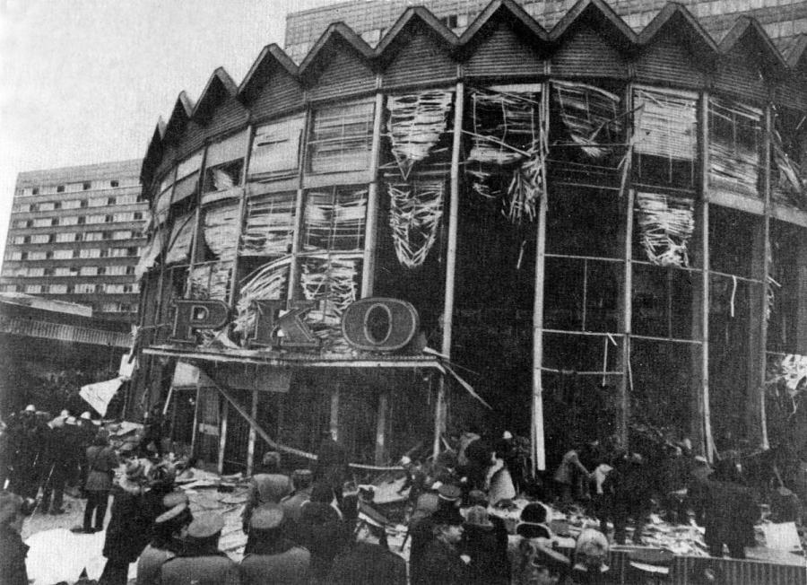 Wybuch Rotundy w Warszawie