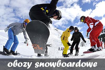 zimowe obozy snowboardowe