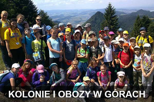 wakacje dla dzieci w górach